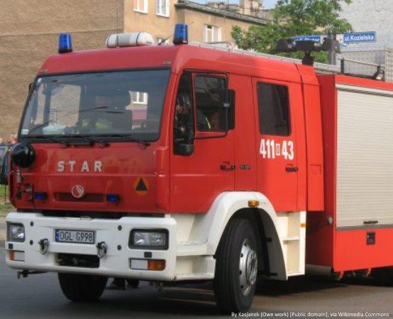 Ostrowiec Świętokrzyski:  Podziękowania dla strażaków z powiatu ostrowieckiego